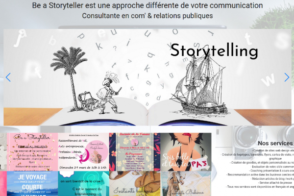 Be A Storyteller